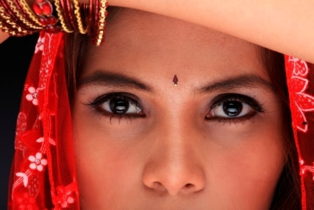 Indian woman website image
