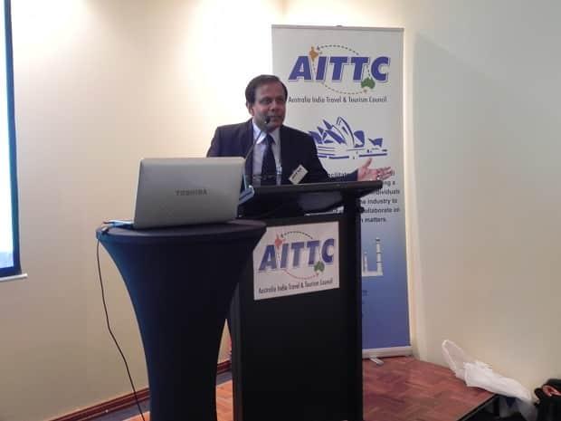 Sandip Hor AITTC Chairman