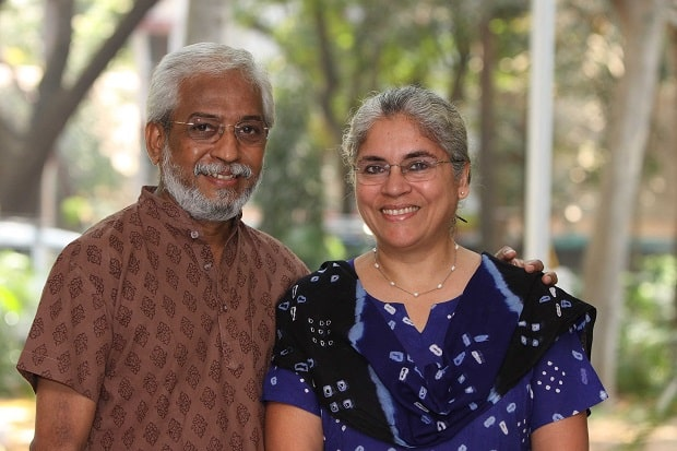 Filmmakers Anjali Monteiro and K P Jayasankar