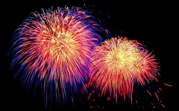 Millinocket.Fireworks