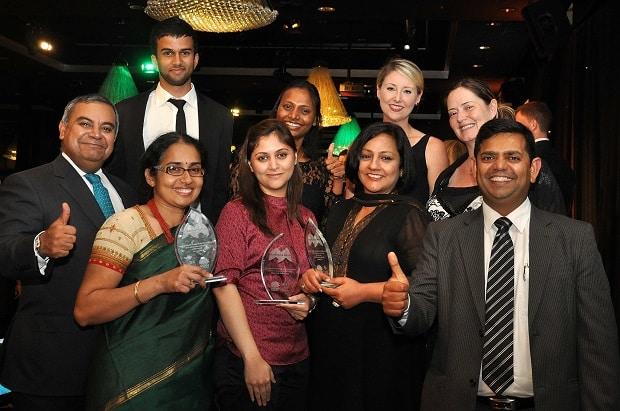 Premier's Multicultural Media Awards 2014 Indian Link team