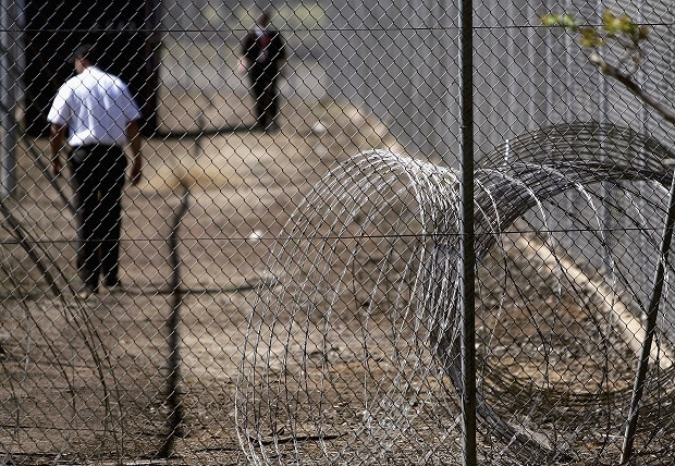 Razorwire Removed From Villawood Detention Centre