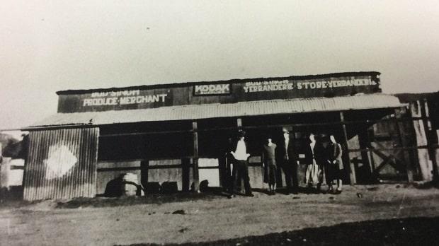 Bud Singh's general store in Yerranderie, 1920