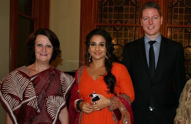 VB at Raheen with Guests (Sheeba) and Minister Louise Asher
