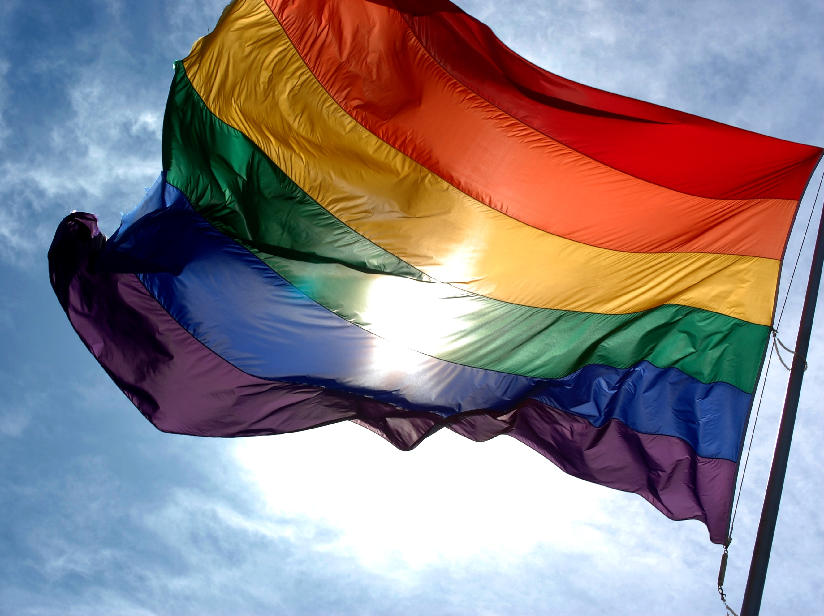 Rainbow flag.Indian Link