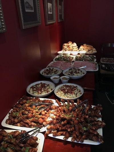 Homeless preparations - Christmas Dinner