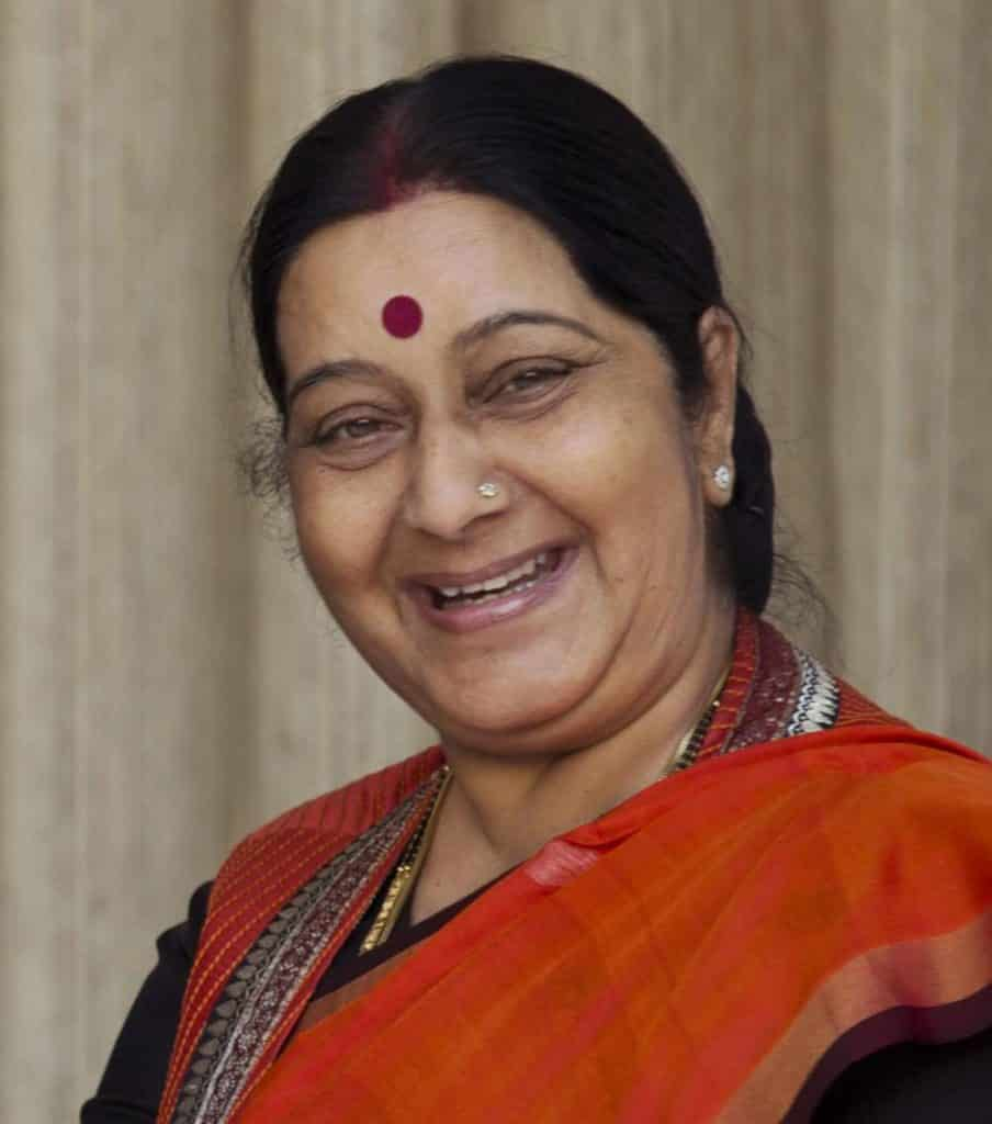Sushma Swaraj2.Indian Link