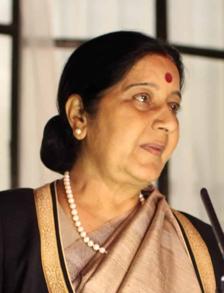 Sushma Swaraj1.Indian Link
